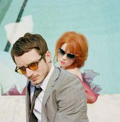 Elijah Wood & Shirley Manson - @Oliver Peoples sunglasses