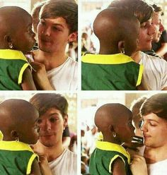 """There's so much care in Louis that I feel like a lot of people don't notice."" I agree."