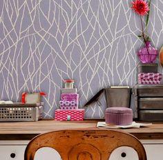 modern stencils designs   Stencils Modern – An Easy DIY Wall Decoration: Modern Wall Stencils ...