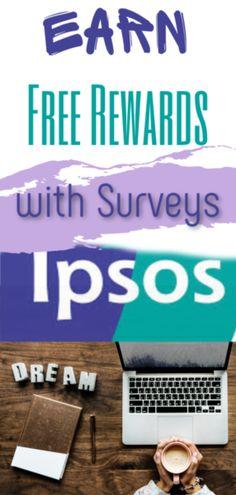 Earn Rewards with Surveys with Ipsos Canada