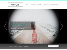 Amapure is a laconic design with a powerful backend at the same time. These two great benefits are called free WordPress theme from SMThemes.com team. And you may download it as it has been already told - for free right now. No registration is needed. Social Bar, Seo Optimization, Themes Free, Responsive Web Design, Premium Wordpress Themes