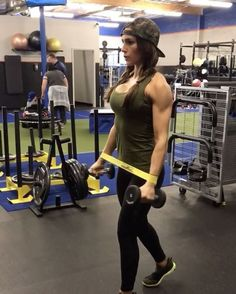 """5b477ad8c8 Alexia Clark on Instagram  """"Miniband 🔥 FIRE Nothing has burned my  shoulders more than this circuit! You don t need heavy dumbbells!"""