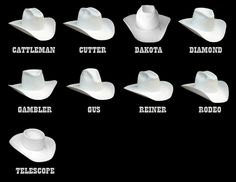 58da7daa4 49 Best Western hats images in 2019 | Western hats, Hats, Cowboy hats