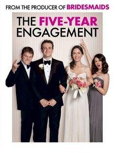 The Five-Year Engagement: Jason Segel, Emily Blunt, Rhys Ifans, Chris Pratt The Five Year Engagement, Engagement Couple, Movies Showing, Movies And Tv Shows, Movies To Watch, Good Movies, Awesome Movies, Movies Free, Funny Movies