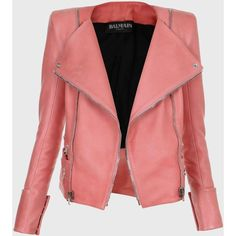 Balmain Miami Biker Jacket ($5,225) ❤ liked on Polyvore