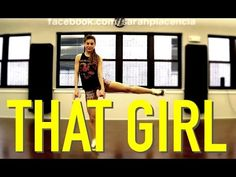 Dance Toning with Sarah Placencia - That Girl - YouTube