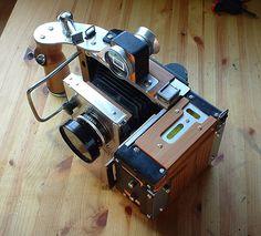 Medium format to 4x5 camera