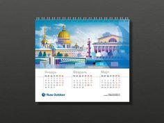 Russ Outdoor Calendar