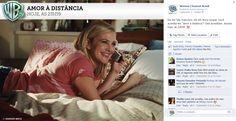 Conteúdo para Warner Channel: filme - Amor à Distância.