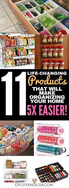 These products will change your life and make organizing your home easy.