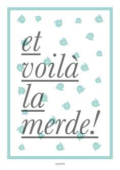 Kunstdruck Poster mit Spruch // art print, quote poster via DaWanda.com
