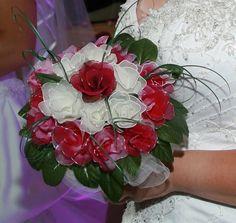 Custom Handmade Beautiful Nylon Wedding Bouquet Package