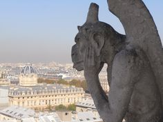 The gargoyle of Notre Dame Catheral