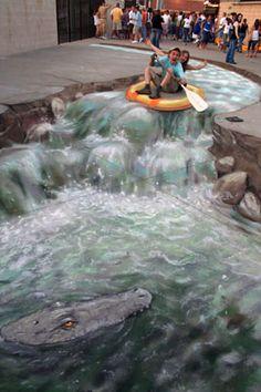 Street Painting Julian Beever