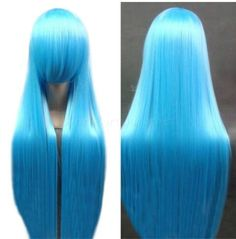 100cm long blue straight Anime cosplay hair wig ,shop at www.favorwe.com,cosplay wigs,fashion wigs,hair,beauty www.favorwe.com