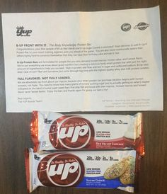 Free Yup Bar Sample