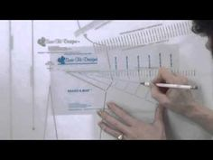 ▶ How to Use the Adjust-A-Bust Template - Sure-Fit Designs™ - YouTube #surefitdesigns  #patternmaking #patterndrafting