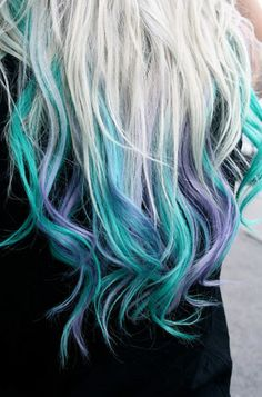 Purple Violet Red Cherry Pink Bright Hair Colour Color Coloured Colored Fire Style curls haircut lilac lavender short long mermaid blue green teal orange hippy boho ombré tips   Pulp Riot