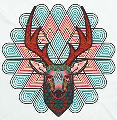 Blue deer spirit - tamatz kauyamari