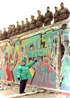 Berlin Wall towards the end...