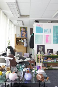 While in Berlin were invited to discover all the art and objects at Giulio Delvè & Luigi de Simone's #Workspace :: http://pers.sl/ccvw