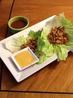 P. F. Chang's Chicken Lettuce Wraps Recipe - If these taste like what they serve at the restaurant I will have the happiest hubby in the world :0)