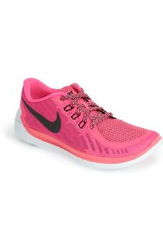 Girl's Nike 'Free 5.0' Athletic Shoe