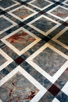 marble flooring design cutting by CNC water jet machine for luxury new york home by marvelous marble design Inc. Granite Flooring, Best Flooring, Stone Flooring, Ceramic Flooring, Flooring Tiles, Floor Design, Tile Design, Marble Design Floor, Planchers En Chevrons