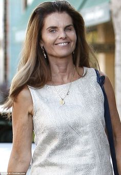 Maria Shriver Reason to be cheerful: Her long-running divorce saga is set to finally come to a close in the coming months