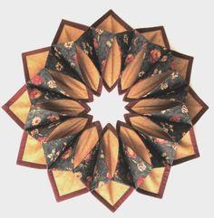 Kansas Troubles Fold N Stitch Wreath Kit