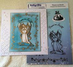 Birdcage Craft Studio Christmas Angel