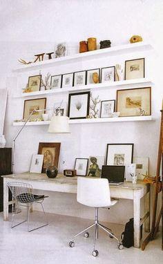 mensole e quadri