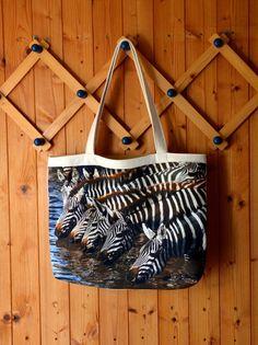 Shopper von Pirkko Textilwerkstatt - Stoffe und Genähtes auf DaWanda.com