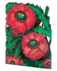 "Pirouette Cards 3D  Pop Up Card by Santoro Graphics /""Aquarium/"""