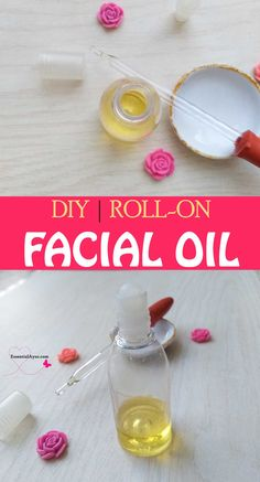 DIY roll on facial oil. You can make your own luxurious cosmatics in home. It gives you extremely comfortable or elegant experience. Smooth and soft face skin is something that every woman wants. It looks sensual and increases your beauty and confidence. #beautytips #naturalskincare #facialoil #diybeautyproject Diy Beauty Projects, Soap Making Recipes, Make Beauty, Recipe Steps, Hair Care Routine, Facial Oil, Face Skin, Natural Skin Care, Confidence