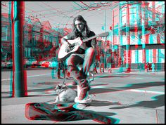 3D Photo Anaglyph, need 3D Glasses