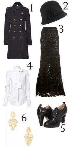 Downton Abbey inspired fashion