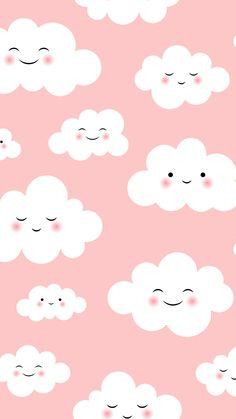 new ideas wallpaper iphone pastel kawaii Cute Wallpaper Backgrounds, Wallpaper Pictures, Wallpaper Iphone Cute, Pretty Wallpapers, Cellphone Wallpaper, Aesthetic Iphone Wallpaper, Aesthetic Wallpapers, Cute Galaxy Wallpaper, Cloud Wallpaper