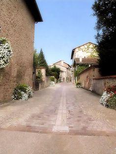 Street of Rochechouart
