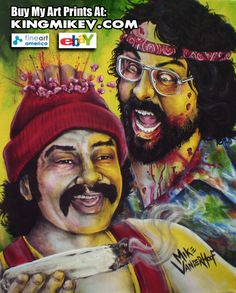 Zombie Cheech and Chong by: Mike Vanderhoof www.kingmikev.com