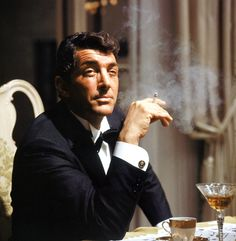 Dean Martin in Robin and the 7 Hoods, 1964. Old school is the best school.