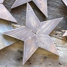 These wood star ornaments are sure to make your home feel more cozy! They are great or Christmas or can be used year round!!