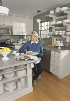 Clever ideas, practical storage, unusual solutions -- Martha Stewart shares her secrets for creating a kitchen that works.