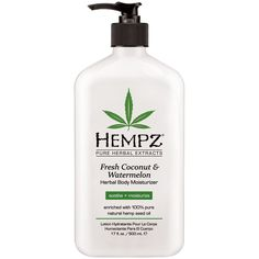 Hempz Pure Herbal Extracts Fresh Coconut & Watermelon Moisturizer (Sooth + Moisturize)