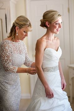 Gorgeous Mother-of-the-Bride (and Groom) Dresses From Real Weddings