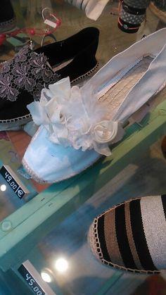 Espadrilles Toni Pons, costumizadas por Patricia. Para eventos y bodas. Desde 26 euros. Tallas 35 / 46