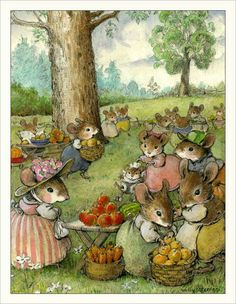 Write a story about the mouse's picnic