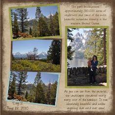 Yellowstone 2010 - Scrapbook.com