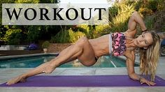 HIIT Cardio Workout | Fat Burning Workout | Flat Belly Tips - YouTube