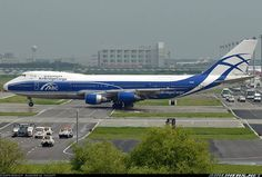 Right-of-way for the Jumbo at Shanghai Pudong Airport. AirBridgeCargo provides service from Shanghai to Ekaterinburg, Moscow-Domodedovo, Moscow-Sheremetyevo, and Sochi